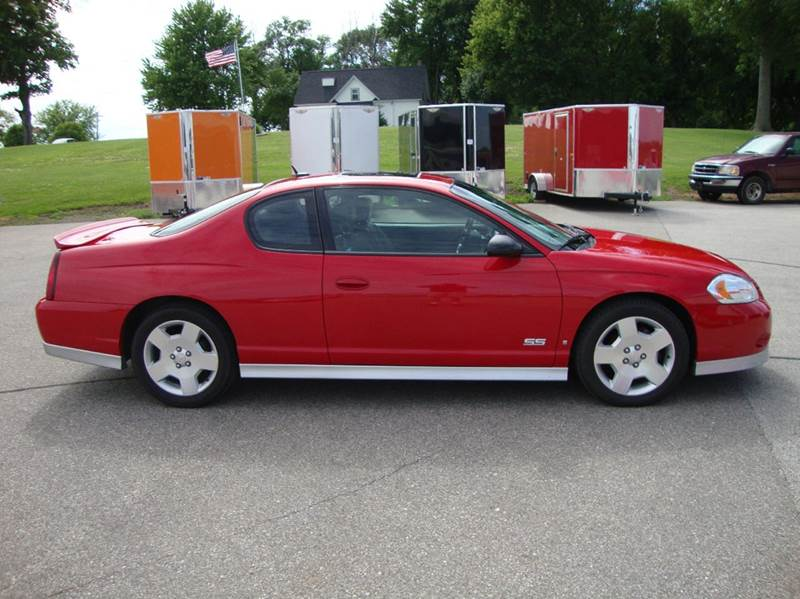 2006 chevrolet monte carlo ss 2dr coupe in bancroft ia ditsworth auto sales. Black Bedroom Furniture Sets. Home Design Ideas