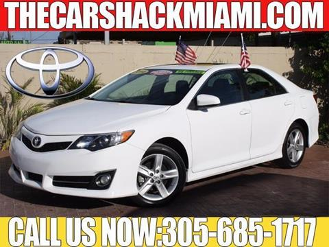 2014 Toyota Camry for sale in Hialeah, FL