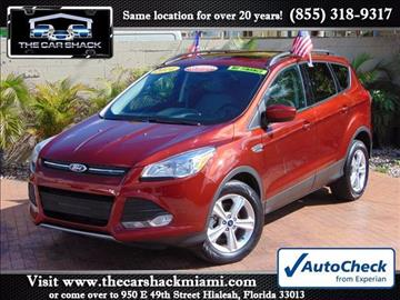 2014 Ford Escape for sale in Hialeah, FL