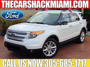 2014 Ford Explorer for sale in Hialeah, FL