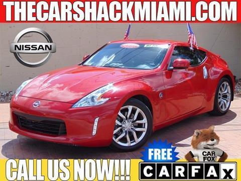 2013 Nissan 370Z for sale in Hialeah, FL