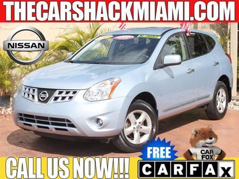 2013 Nissan Rogue for sale in Hialeah, FL