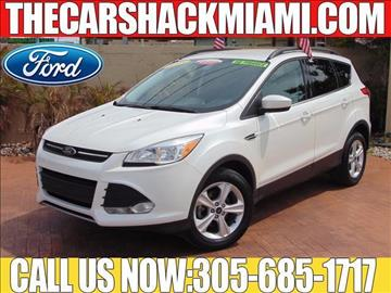 2015 Ford Escape for sale in Hialeah, FL