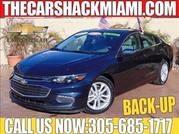 2016 Chevrolet Malibu for sale in Hialeah, FL
