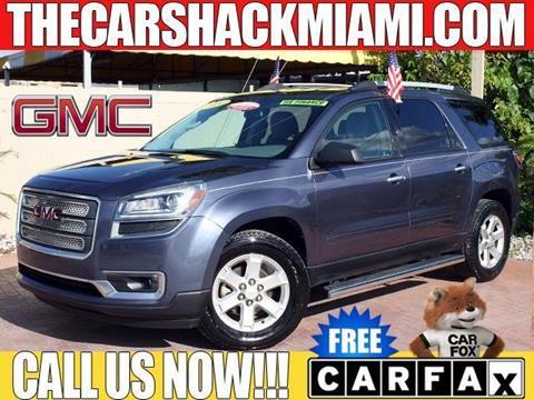 2014 GMC Acadia for sale in Hialeah, FL