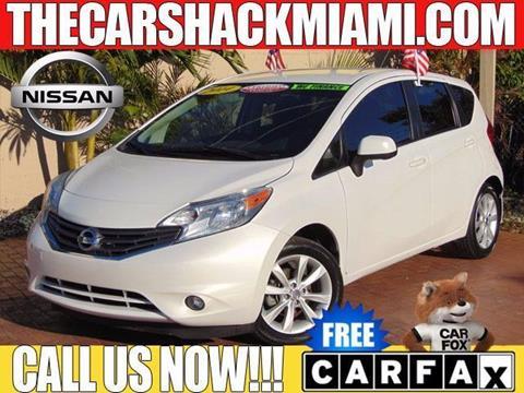 2014 Nissan Versa Note for sale in Hialeah, FL