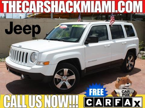 2016 Jeep Patriot for sale in Hialeah, FL