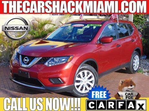 2016 Nissan Rogue for sale in Hialeah, FL