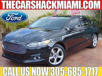 2014 Ford Fusion for sale in Hialeah, FL