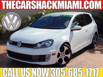 2013 Volkswagen GTI for sale in Hialeah, FL