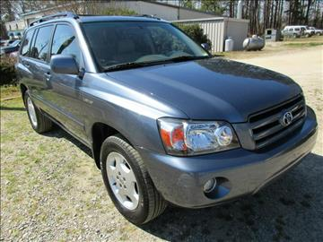 2005 Toyota Highlander for sale in Garner, NC