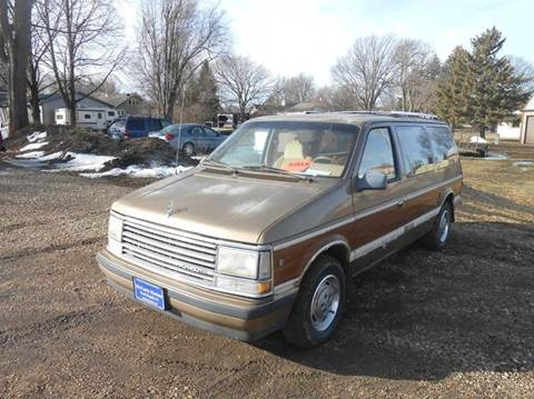 1989 Plymouth Grand Voyager for sale in Rock Rapids, IA