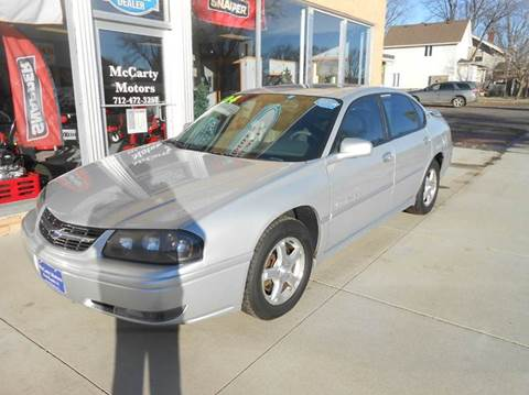 2004 Chevrolet Impala for sale in Rock Rapids, IA