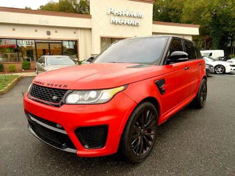 2016 Land Rover Range Rover Sport for sale in Freehold, NJ
