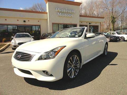 2011 Infiniti G37 Convertible for sale in Freehold, NJ
