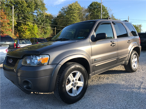 2006 Ford Escape Hybrid for sale in Uniontown, OH