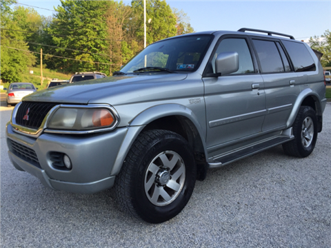 2001 Mitsubishi Montero Sport for sale in Uniontown, OH