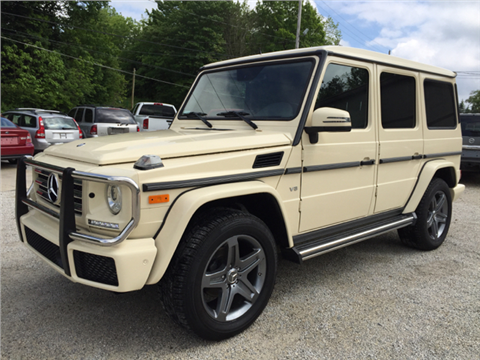 Mercedes benz g class for sale in ohio for Mercedes benz g class used 2003