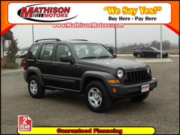 Jeep Liberty For Sale In Spencer Ia