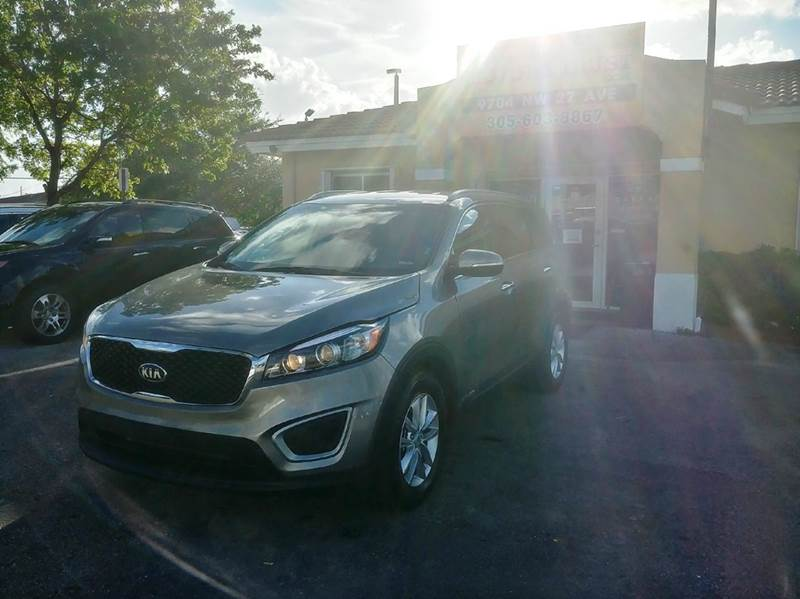 2018 KIA SORENTO LX V6 AWD 4DR SUV silver 2-stage unlocking doors 4wd type - on demand abs - 4-