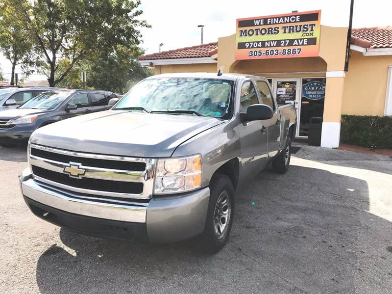 2007 CHEVROLET SILVERADO 1500 LT1 4DR CREW CAB 58 FT SB gray 2-stage unlocking doors abs - 4-w
