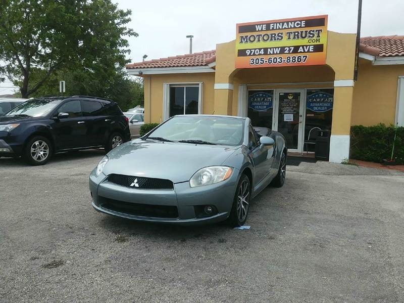 2009 MITSUBISHI ECLIPSE SPYDER GT 2DR CONVERTIBLE gray 2-stage unlocking doors abs - 4-wheel ai