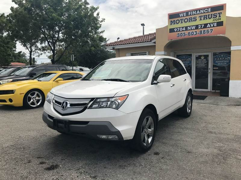 2008 ACURA MDX SH AWD WSPORT WRES 4DR SUV AND white 2008 acura mdx sport with dvd roof navi