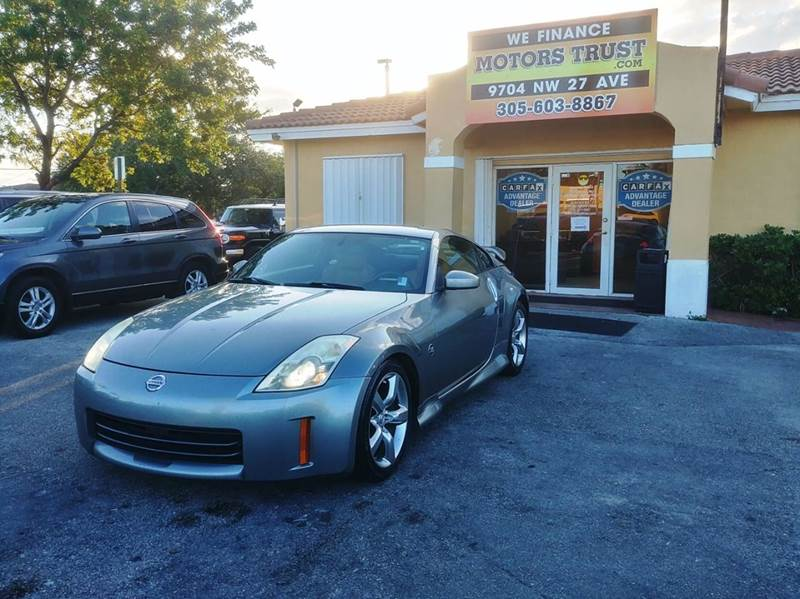 2006 NISSAN 350Z GRAND TOURING 2DR COUPE 35L V6 gray abs - 4-wheel airbag deactivation - occup