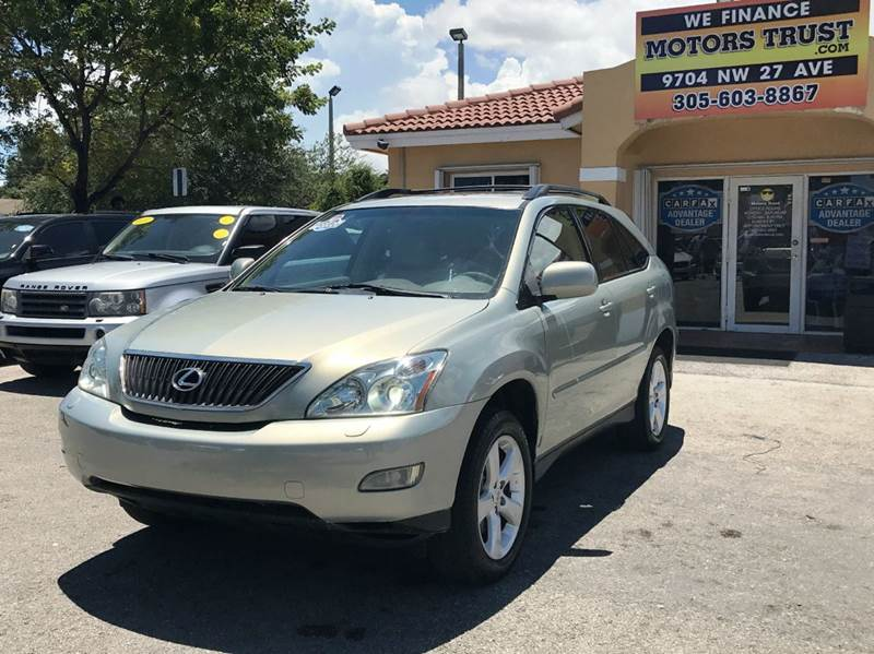 2004 LEXUS RX 330 BASE 4DR SUV tan abs - 4-wheel anti-theft system - alarm cd changer center c