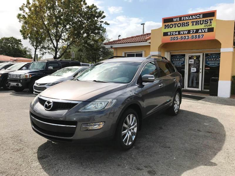 2007 MAZDA CX-9 GRAND TOURING 4DR SUV gray 2-stage unlocking doors abs - 4-wheel airbag deactiv
