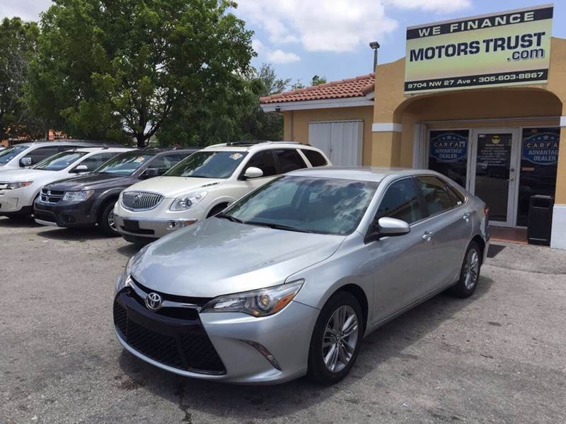 2016 TOYOTA CAMRY SE 4DR SEDAN gray 2-stage unlocking doors abs - 4-wheel air filtration airbag