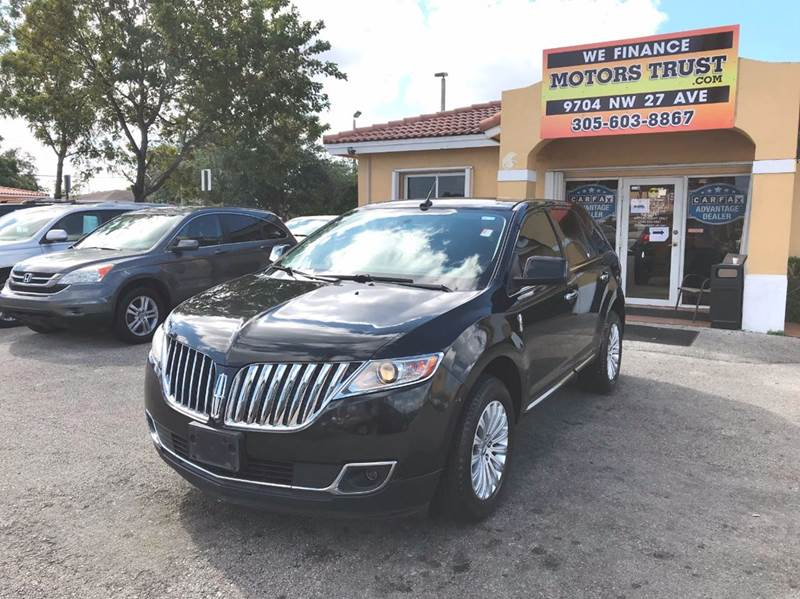 2011 LINCOLN MKX BASE 4DR SUV black abs - 4-wheel air filtration airbag deactivation - occupant