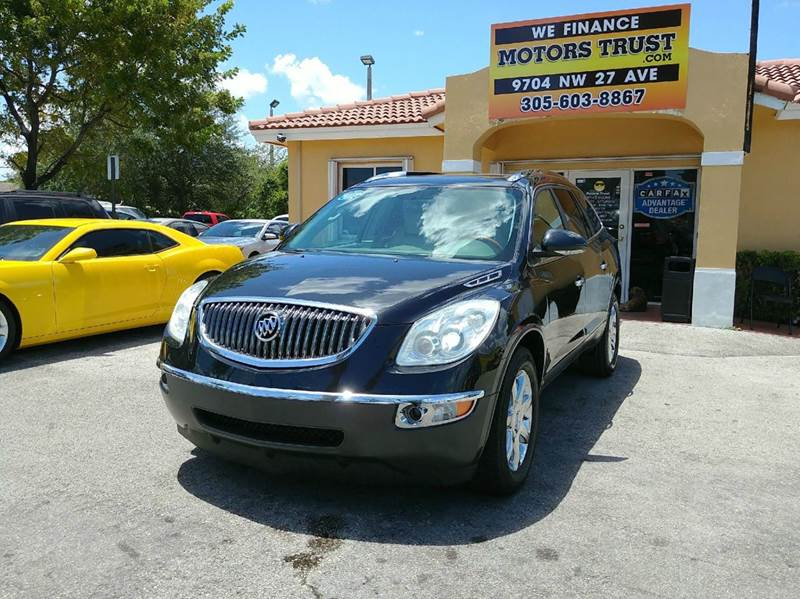 2008 BUICK ENCLAVE CXL 4DR CROSSOVER black 2008 buick enclave cxl with panoramic roof  leather p