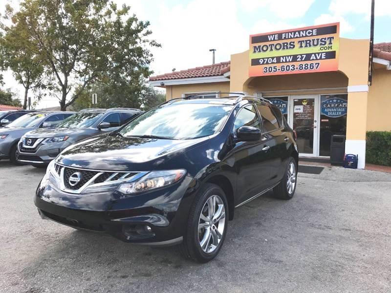 2012 NISSAN MURANO LE 4DR SUV black 2-stage unlocking doors active head restraints - dual front