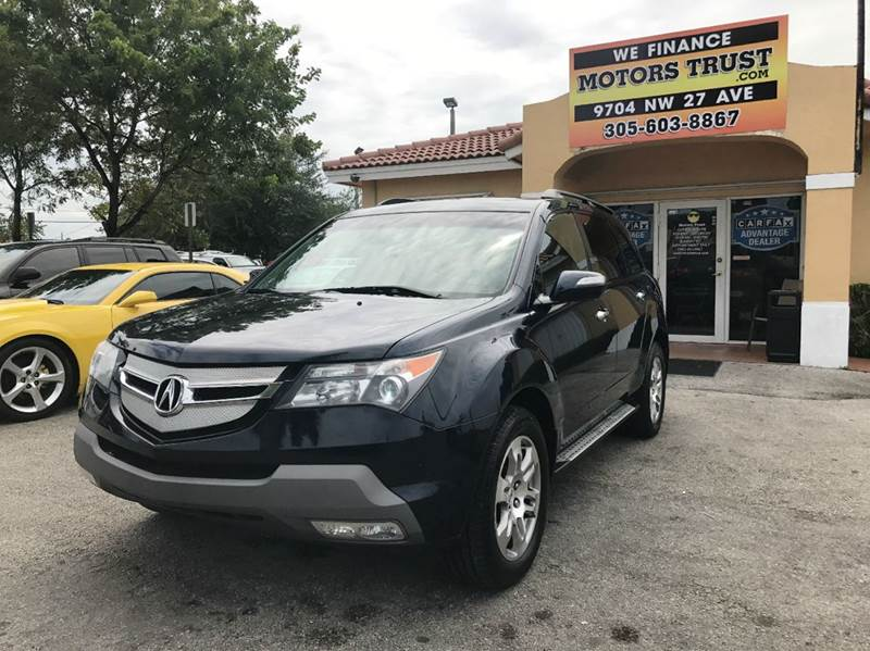 2009 ACURA MDX SH AWD WTECH 4DR SUV WTECHNOLO blue 2009 acura mdx technology with  navigation