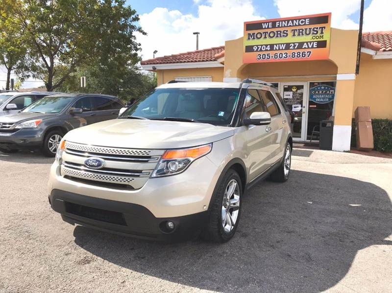2011 FORD EXPLORER LIMITED 4DR SUV gold abs - 4-wheel adjustable pedals - power air filtration