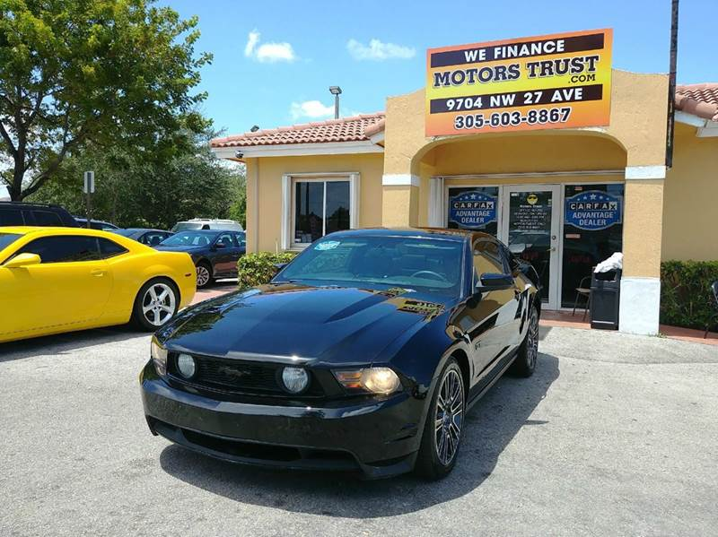 2010 FORD MUSTANG GT PREMIUM 2DR FASTBACK black abs - 4-wheel airbag deactivation - occupant sen