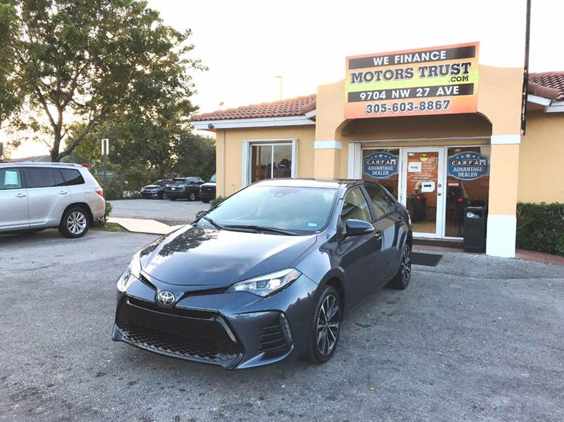 2017 TOYOTA COROLLA SE 4DR SEDAN CVT blue 2-stage unlocking doors abs - 4-wheel air filtration
