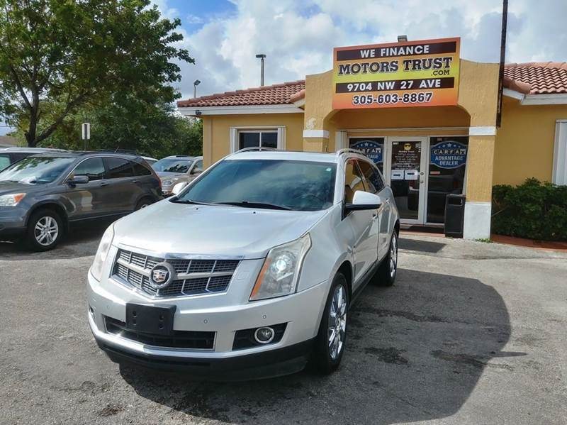 2010 CADILLAC SRX PREMIUM COLLECTION 4DR SUV silver 2-stage unlocking doors abs - 4-wheel active
