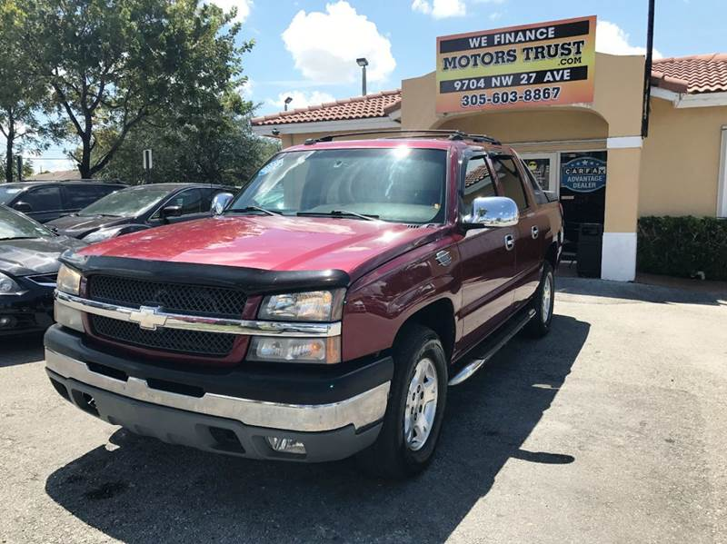 2004 CHEVROLET AVALANCHE 1500 4DR CREW CAB SB RWD red abs - 4-wheel anti-theft system - alarm a