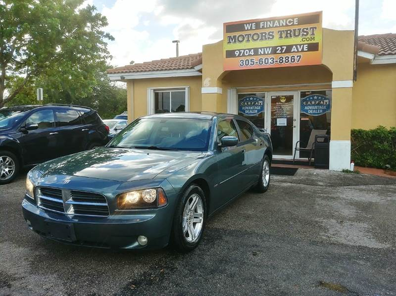 2006 DODGE CHARGER RT 4DR SEDAN green abs - 4-wheel adjustable pedals - power airbag deactivati