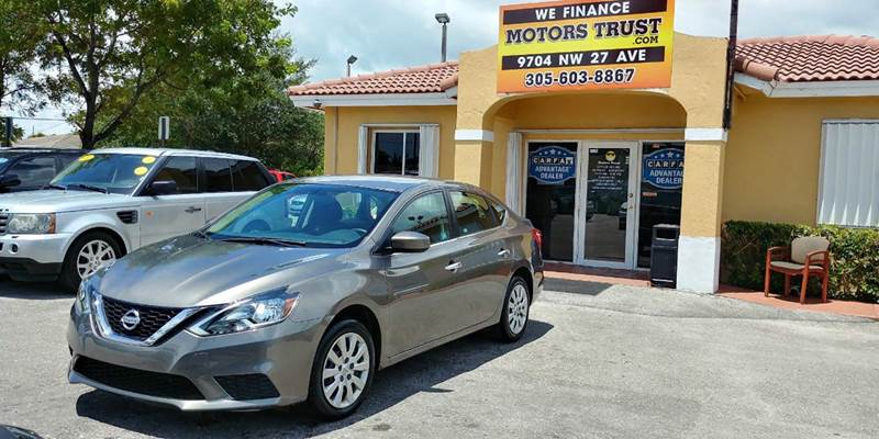 2016 NISSAN SENTRA SV 4DR SEDAN gray 2016 nissan sentra like new factory warranty looks and r