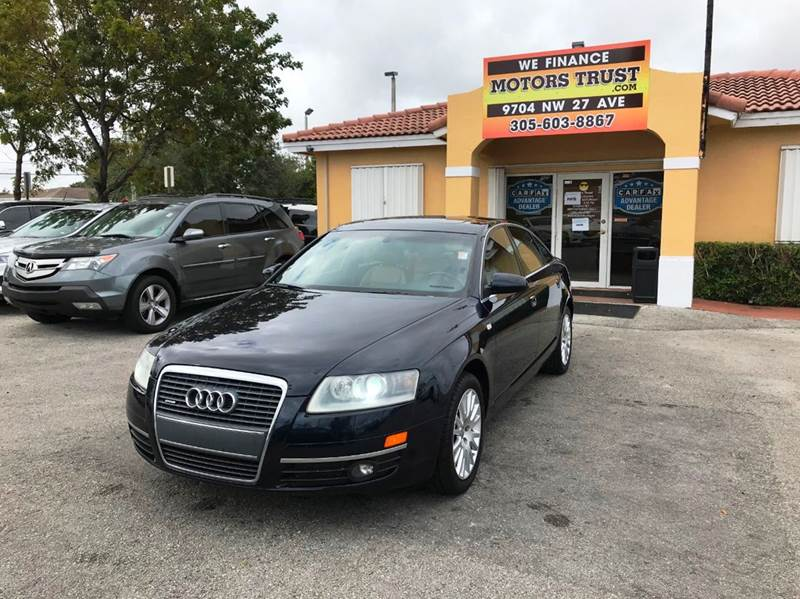 2006 AUDI A6 32 QUATTRO AWD 4DR SEDAN blue abs - 4-wheel active head restraints - dual front a