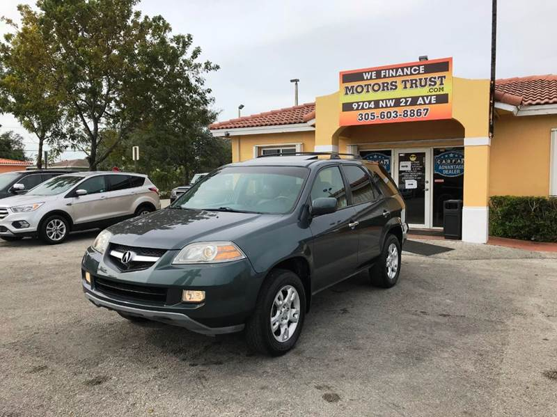 2006 ACURA MDX TOURING WNAVI AWD 4DR SUV green abs - 4-wheel air filtration airbag deactivatio