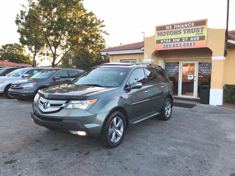 2008 ACURA MDX SH AWD WPOWER TAILGATE WTECH 4 gray 2-stage unlocking doors 4wd type - full time
