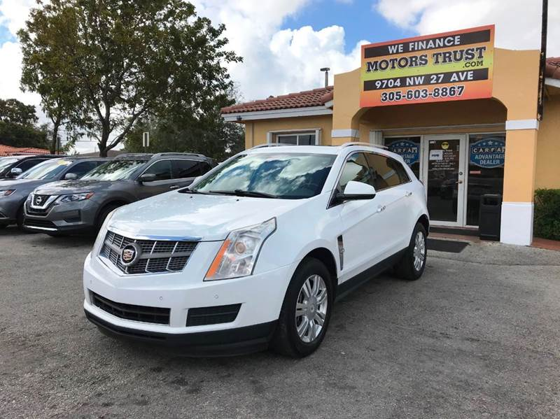 2011 CADILLAC SRX LUXURY COLLECTION 4DR SUV white 2-stage unlocking doors abs - 4-wheel adjustab