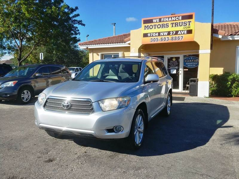2008 TOYOTA HIGHLANDER HYBRID LIMITED AWD 4DR SUV silver 2-stage unlocking doors 4wd type - on de