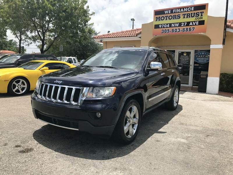 2011 JEEP GRAND CHEROKEE LIMITED 4X2 4DR SUV blue 2011 jeep grand cherokee limited v6  fully load