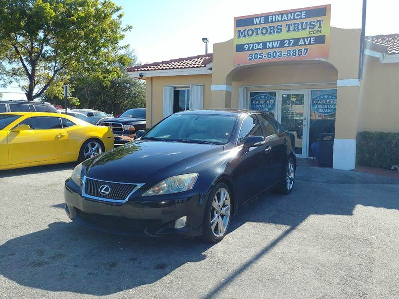 2010 LEXUS IS 250 BASE 4DR SEDAN 6A black 2-stage unlocking doors abs - 4-wheel air filtration