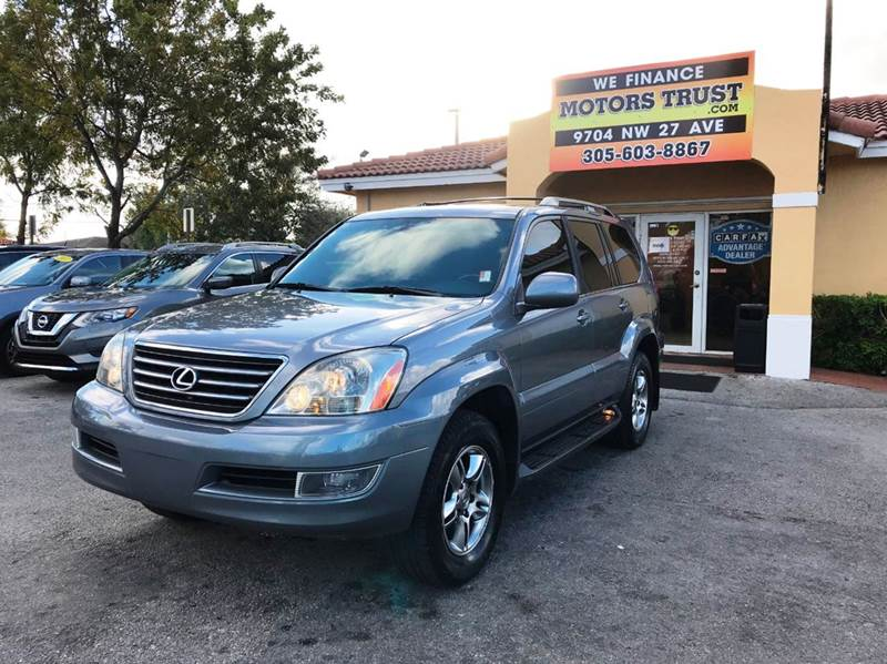 2005 LEXUS GX 470 BASE 4WD 4DR SUV blue 4wd type - full time abs - 4-wheel air suspension - rea